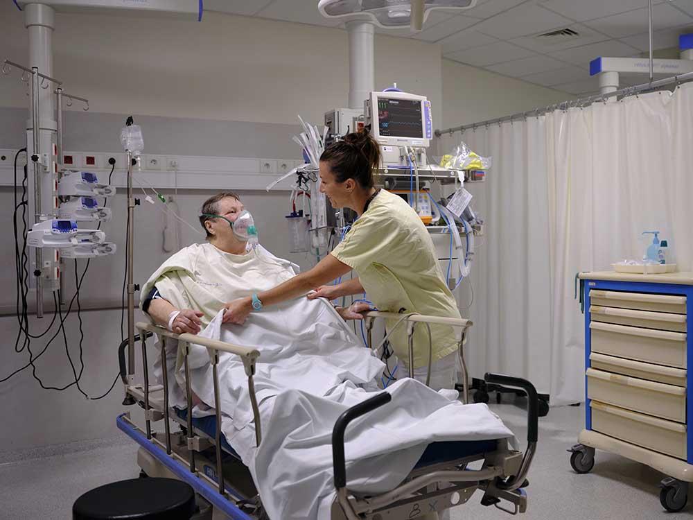 Patient pris en charge aux urgences